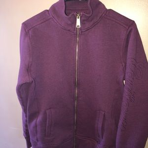 CARHARTT ZIP UP JACKET SWEATSHIRT SIZE M